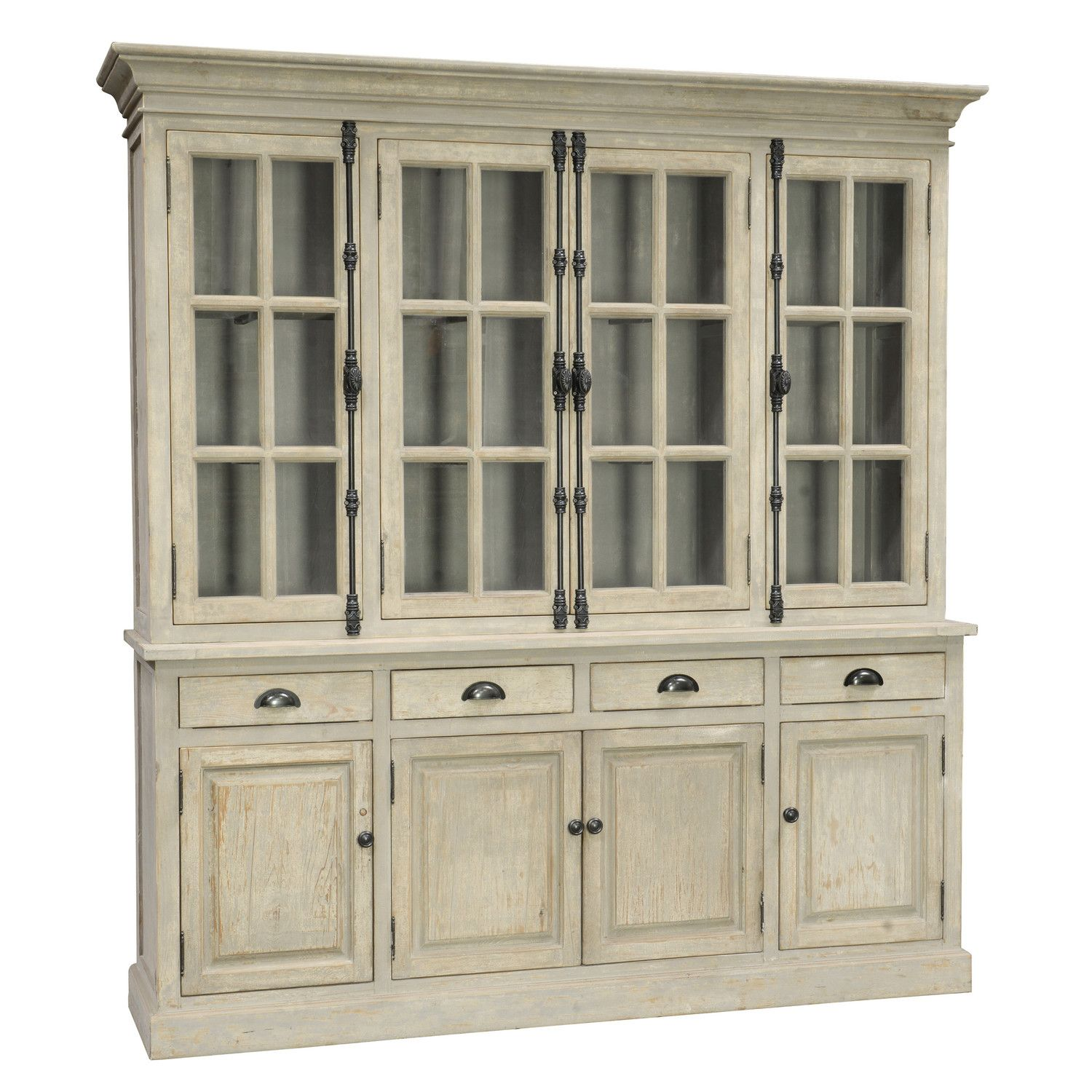 Features Windsor collection Adjustable interior shelves White