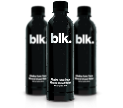 Blk Infused Water Natural Mineral Water Water Branding