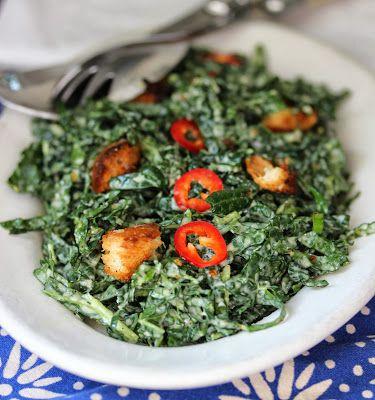Kale Caesar Salad on Pinterest | Kale Salad Recipes, Kale Salads and ...