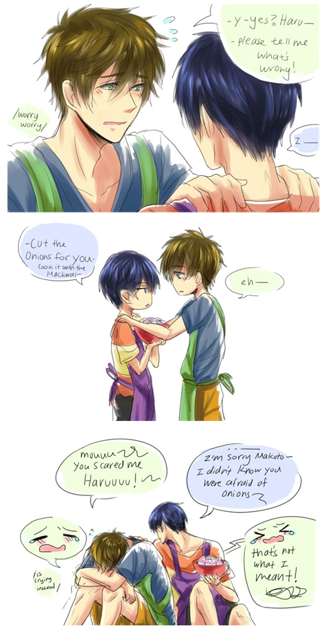 Makoto, have you ever made Haru cry? Part 3     Free