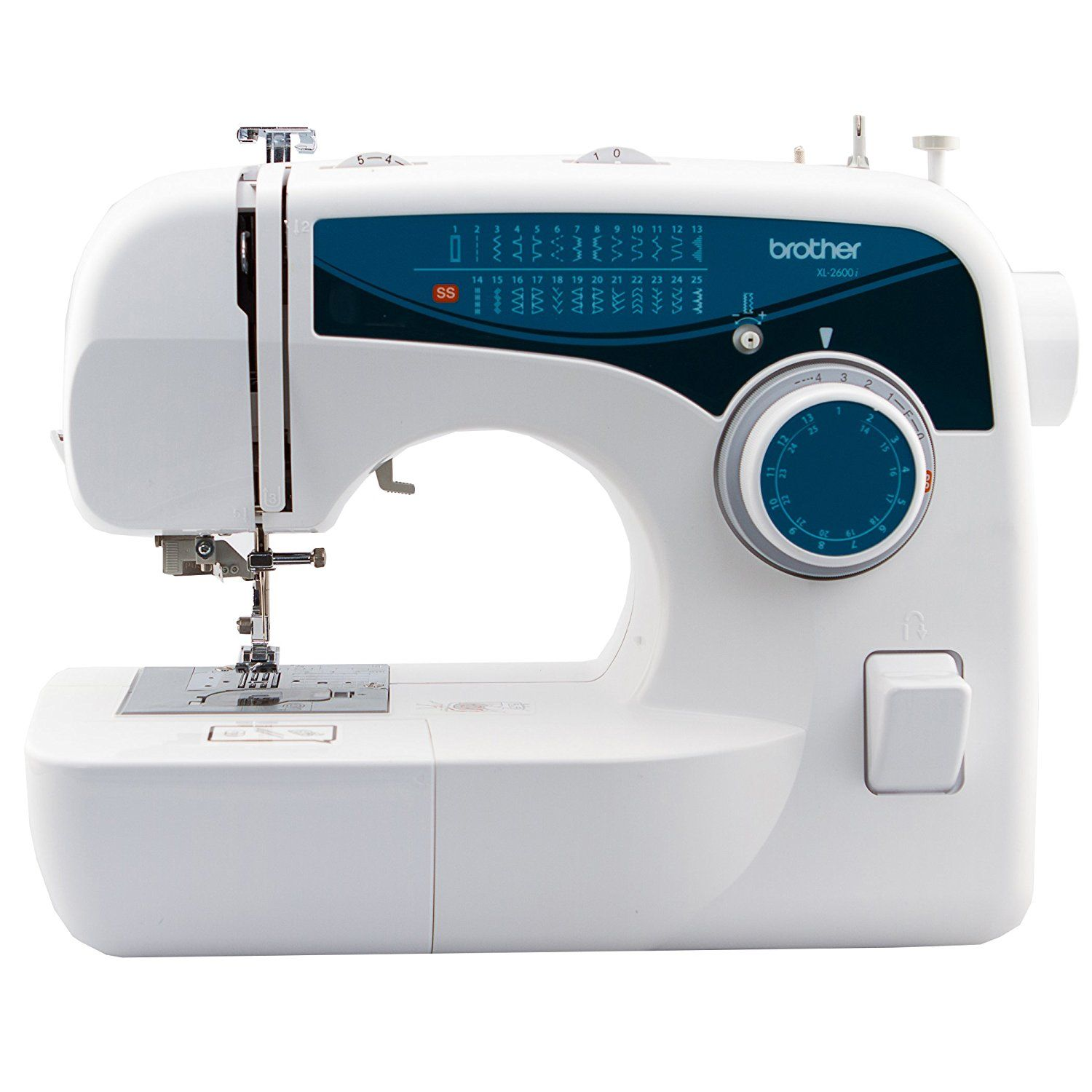 Brother XL2600I Sew Advance Sew Affordable 25-Stitch Free-Arm Sewing ...