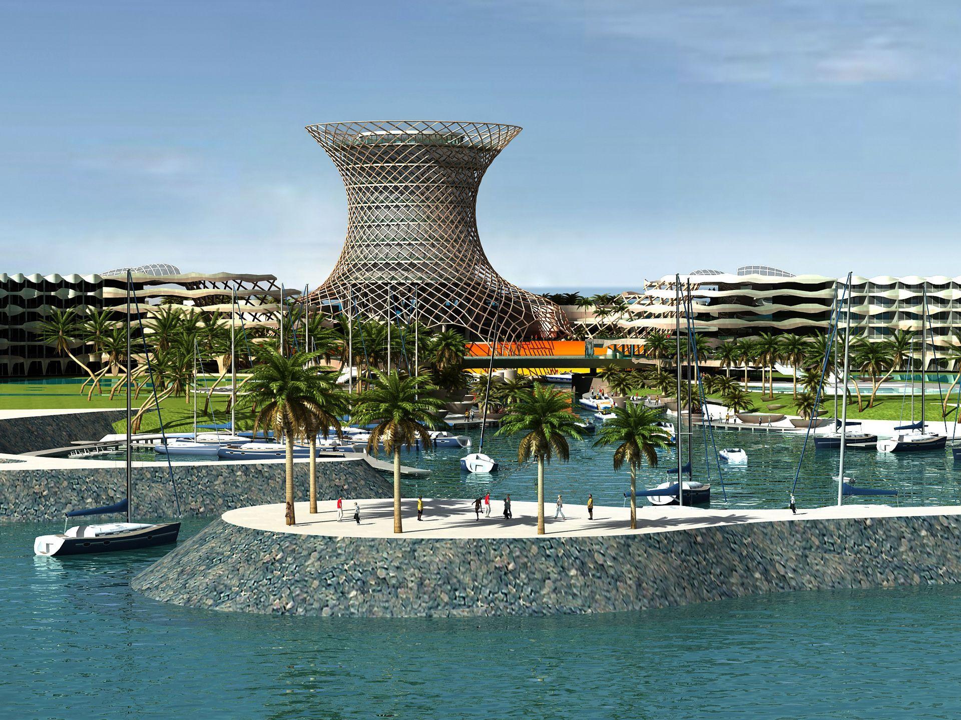 Octopus Hotel #Hotel #Architecture #Asia #Building #China #Design # Futuristic