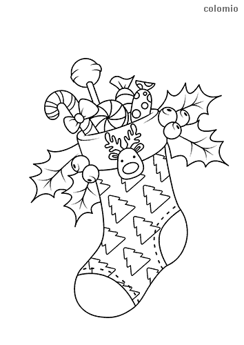 Nicholas Sock Coloring Page Free Printable Coloring Pages Snowman Coloring Pages Free Christmas Coloring Pages