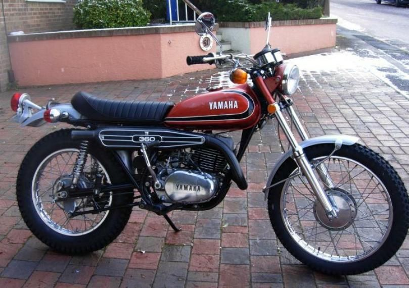 Old Yamaha Motorcycle View Exclusive Images On Our Pinterest Page