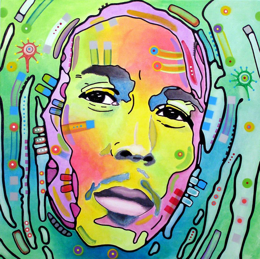 Bob Marley I Canvas Print / Canvas Art by Dean Russo | Dean russo ...