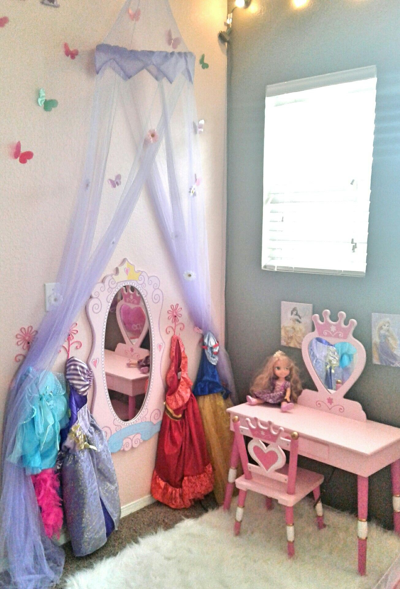Pin de adriann barlow en playroom pinterest dormitorio for Cuartos para ninas pintura