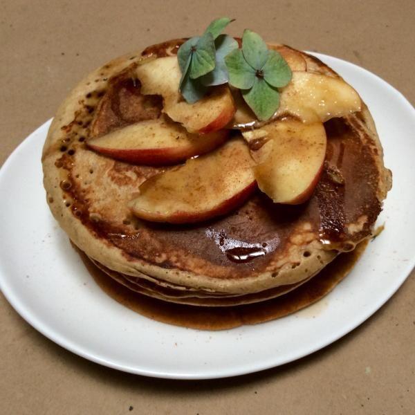 Receta de Pancakes de canela