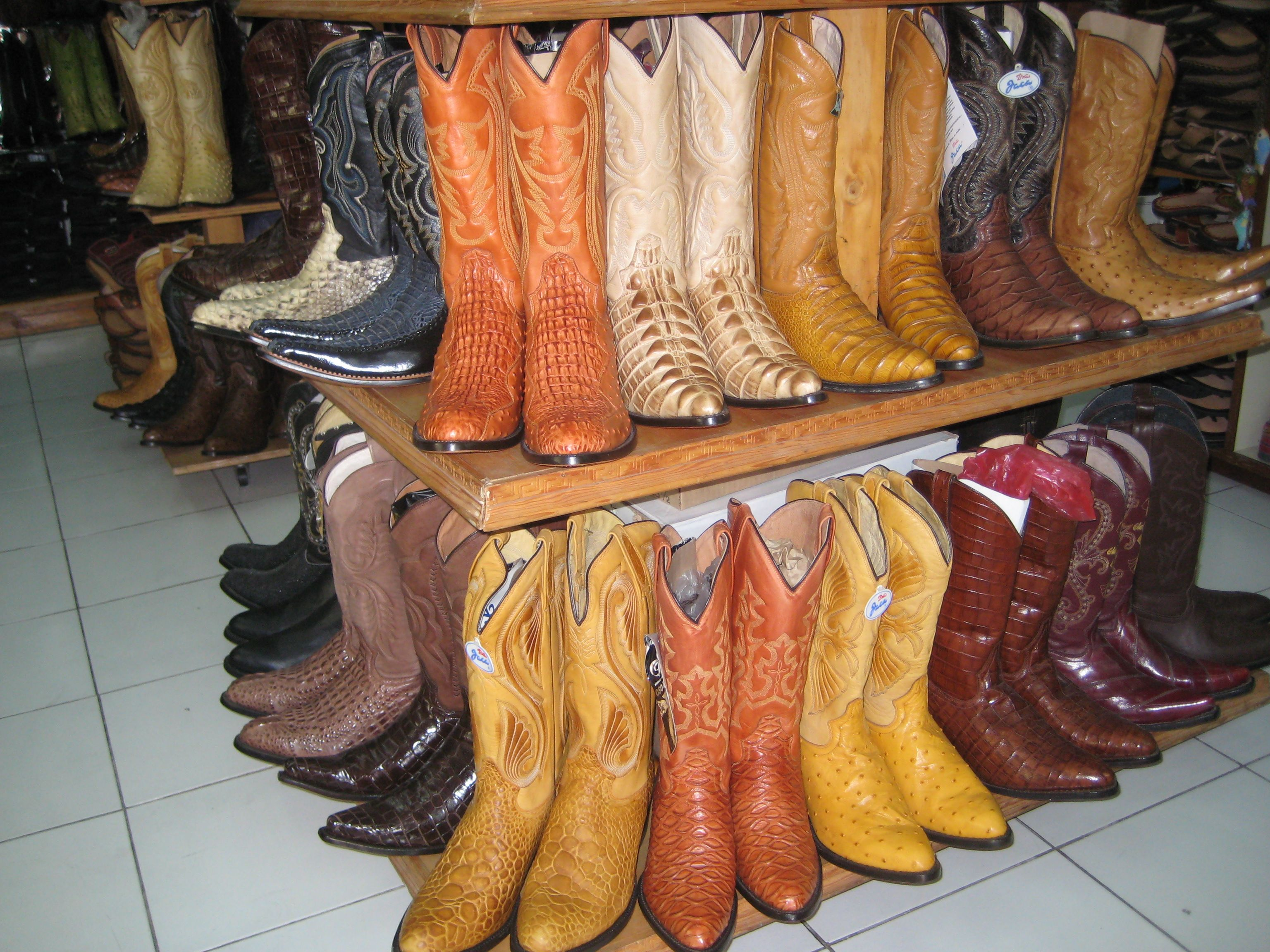 Shopping For Cowboy Boots In Cancun Mexico Boots
