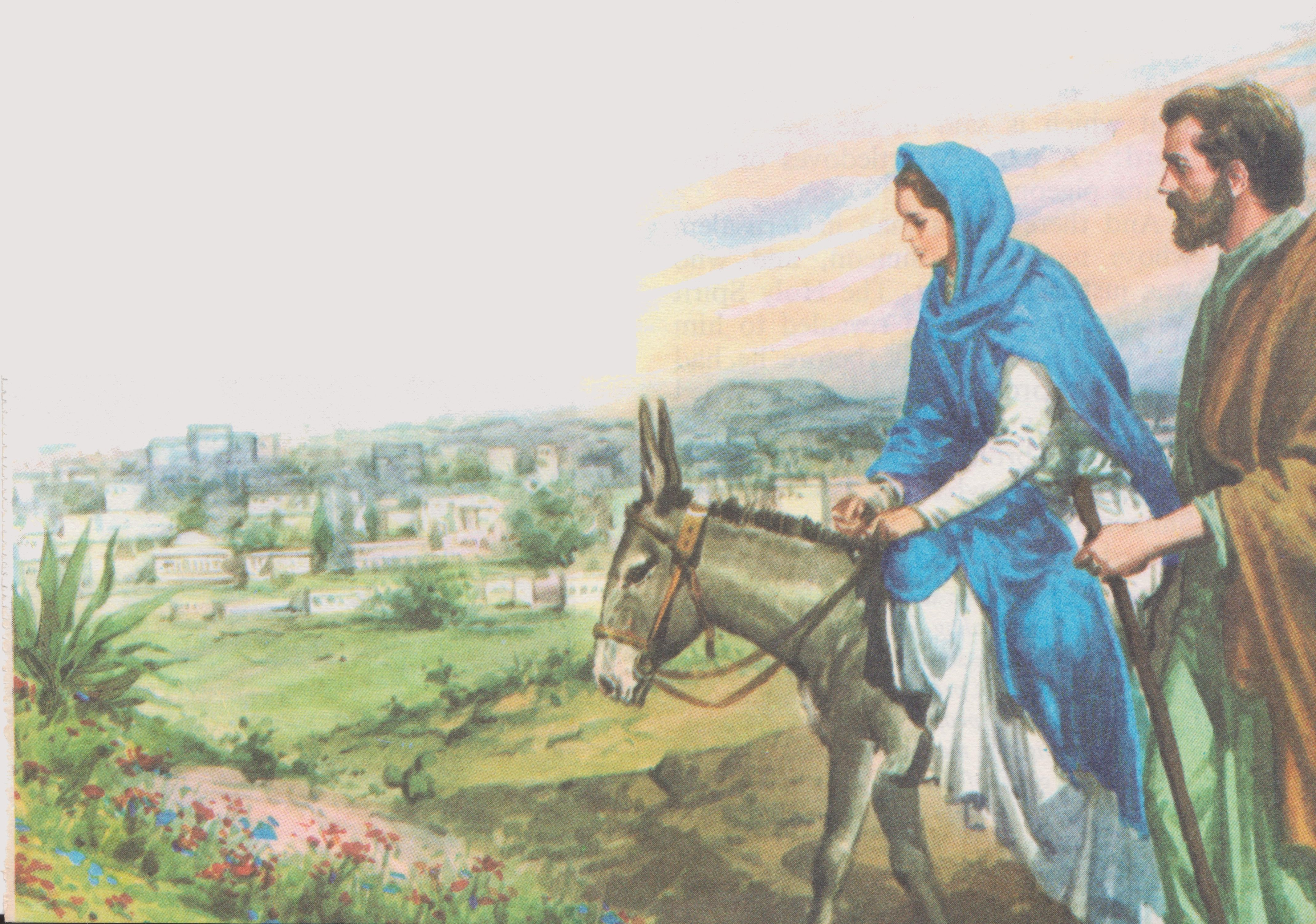 Joseph Und Joseph Mary And Joseph Traveling To Bethlehem Bible Images Bible