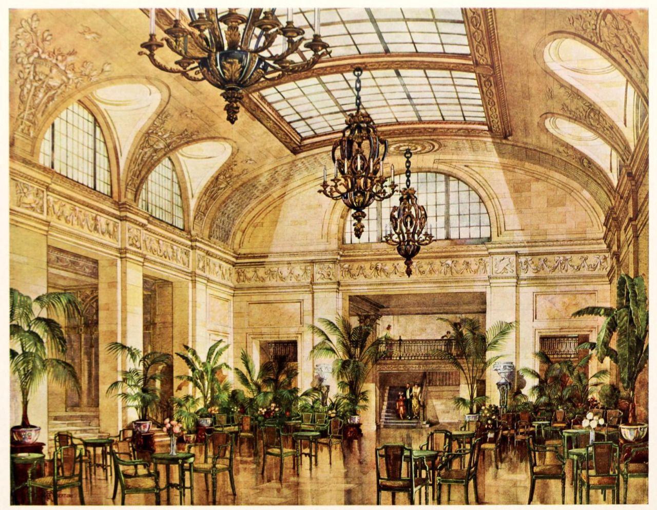 Palm Court Biltmore Hotel York City
