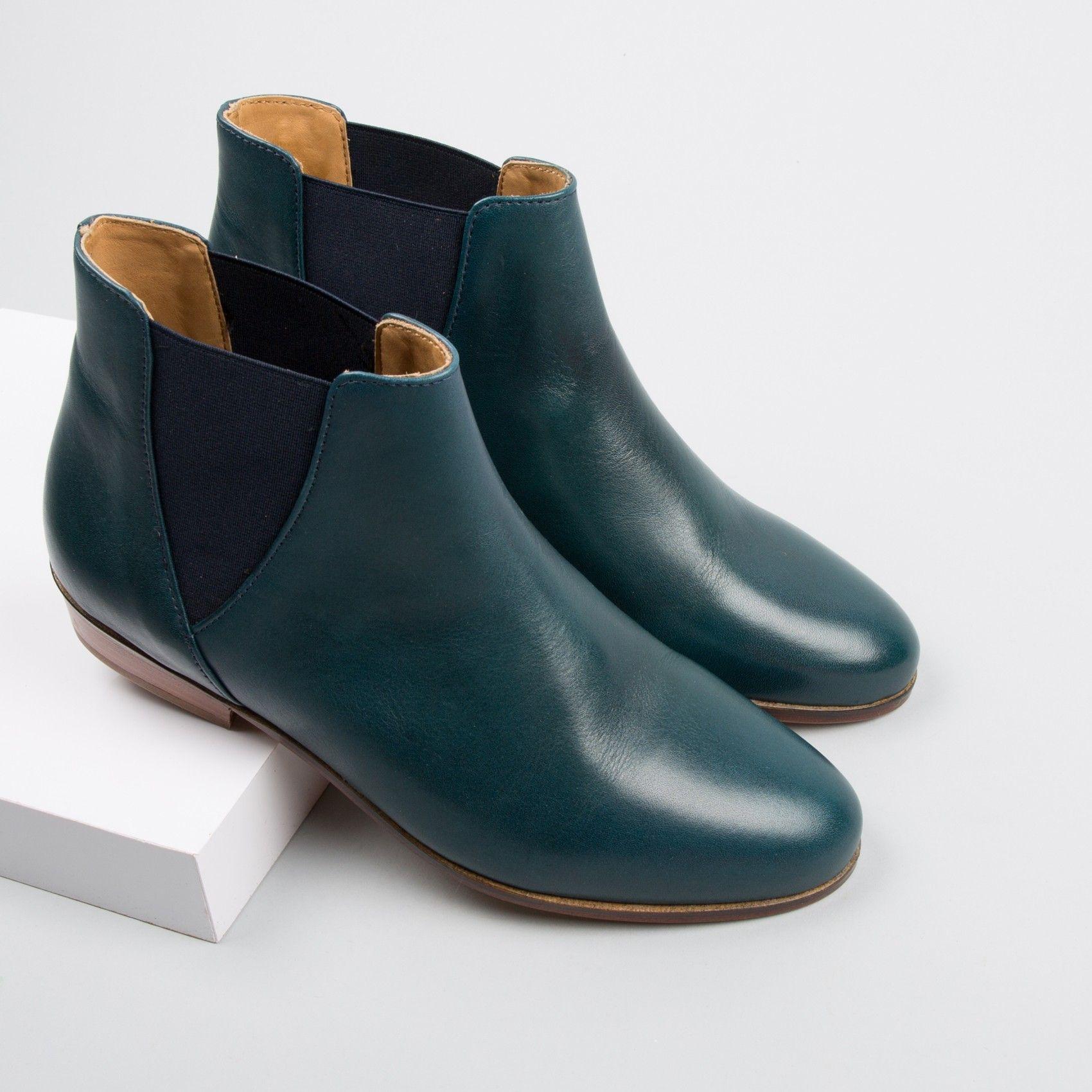 chelsea boots bleu bor al marine la londonienne. Black Bedroom Furniture Sets. Home Design Ideas