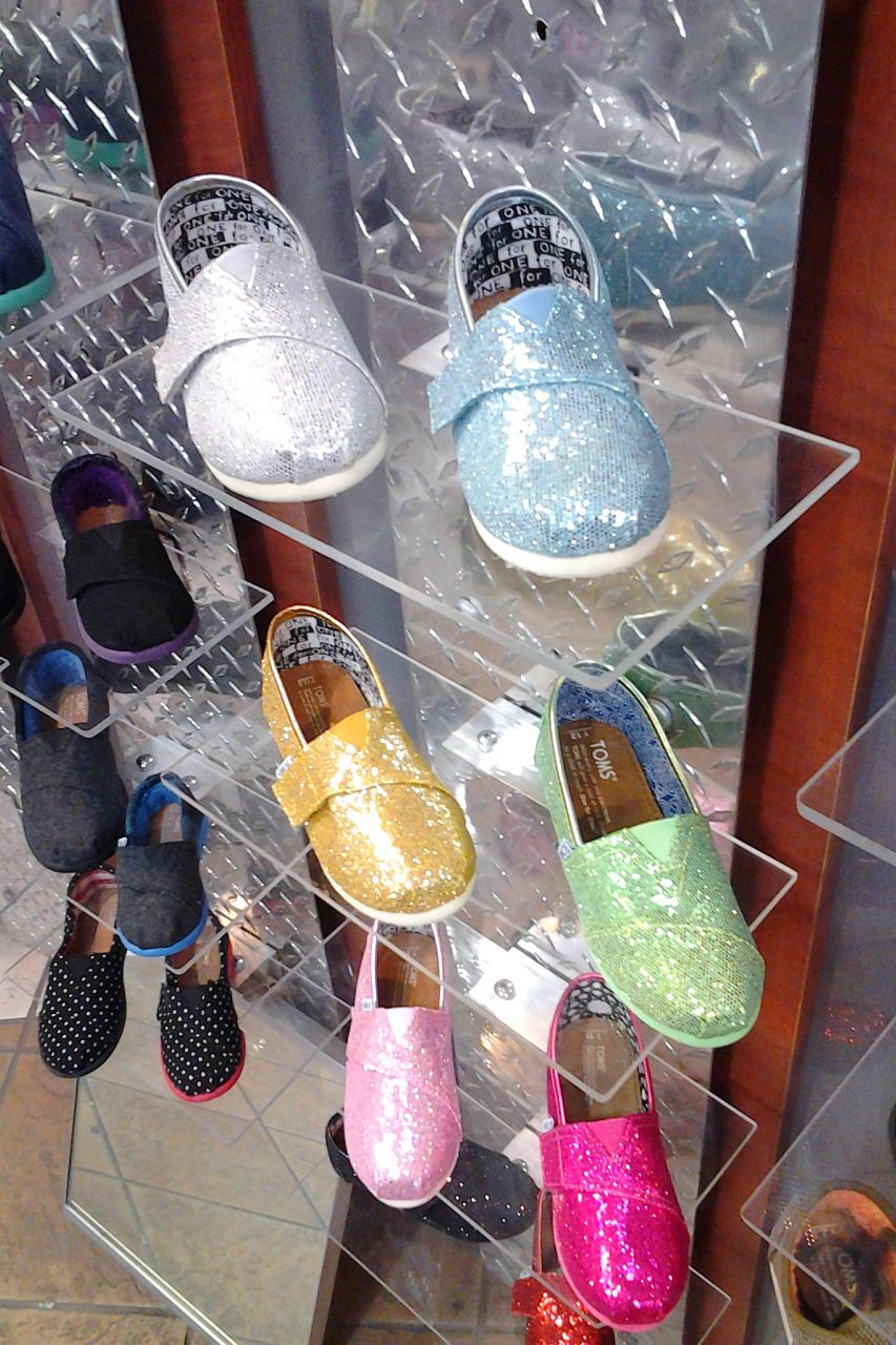 Sparkle with the latest #TOMS #@shoes that will sure make you shine at our Designer Studio Stores: http://www.designerstudiostore.com/contacts/