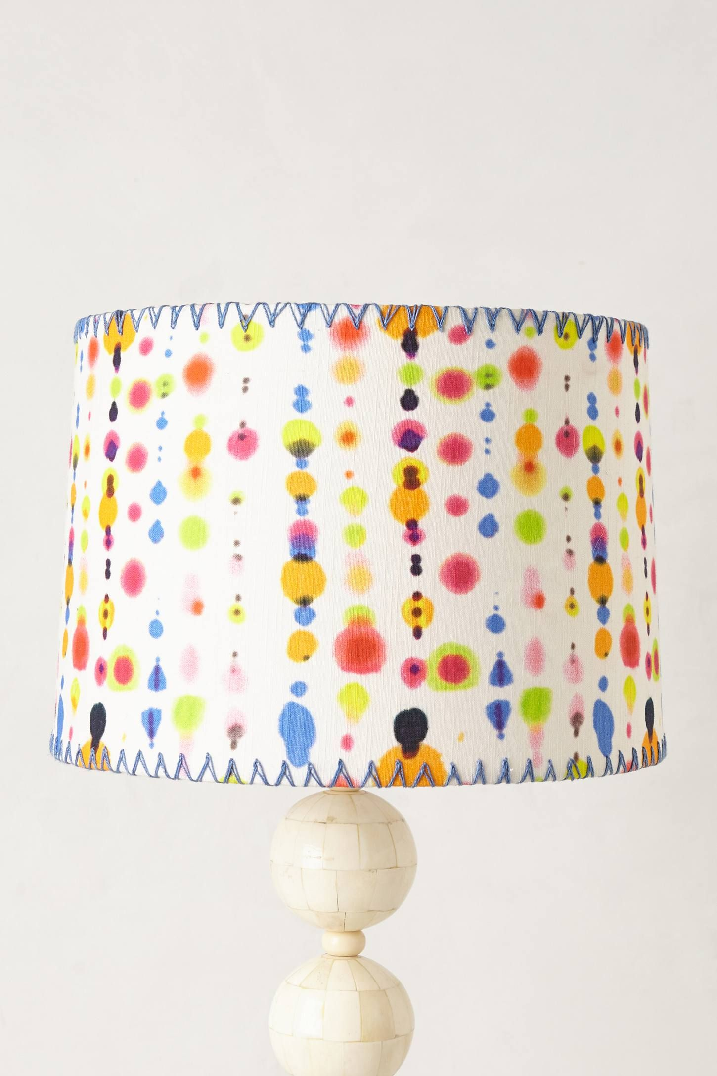 Mod Dot Lampshade Anthropologie Com With Images Lamp Shades Home Accessories Polka Dots