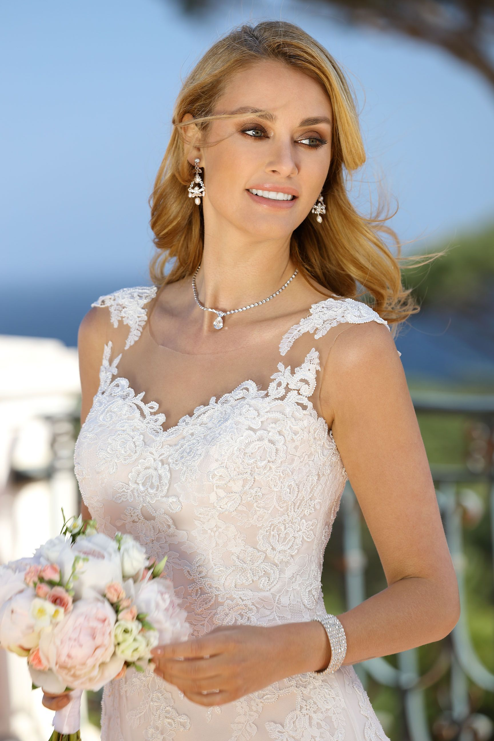 Wedding dress with color  LADYBIRD COLORED Colored wedding dresses by Ladybird Bridal Just not