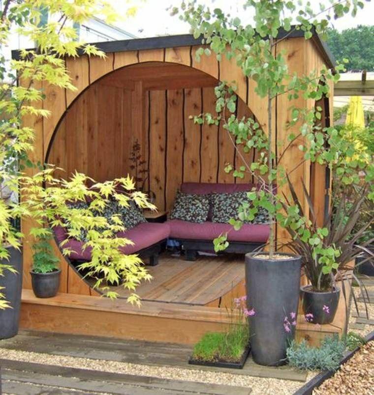 Comment am nager un coin m ditation dans son jardin cabane bois m ditation et coins for Amenager son jardin rustica