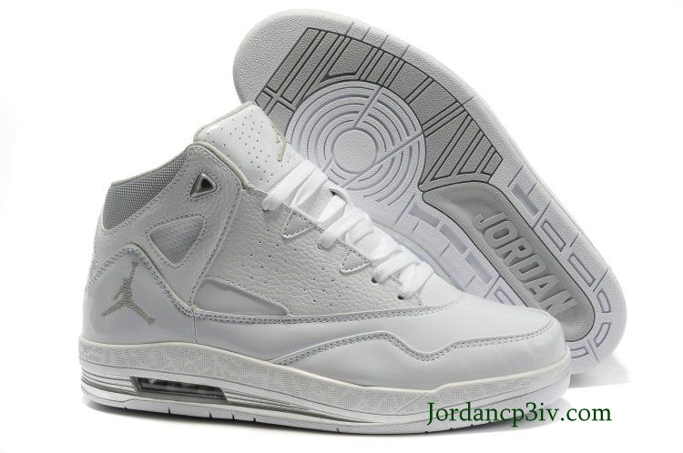 more photos 92552 cd54e Jordan Jumpman h Series II White Grey 487234 100 Basketball Shoes   64.99,over 50% off
