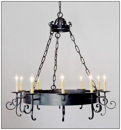 Iron Chandelier Unique Lighting
