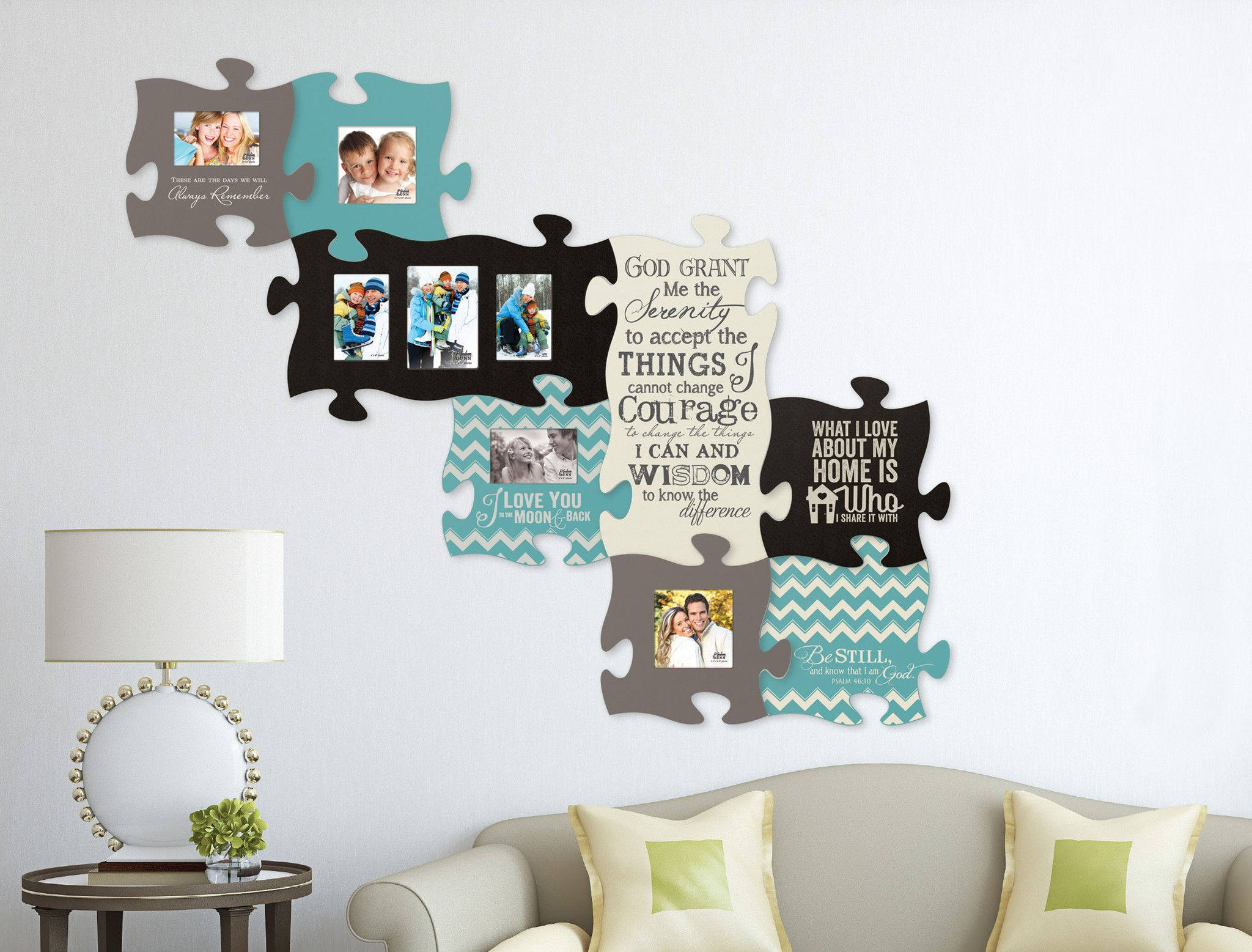 P Graham Dunn Photo Puzzle Frames --- can find pieces on Amazon ...