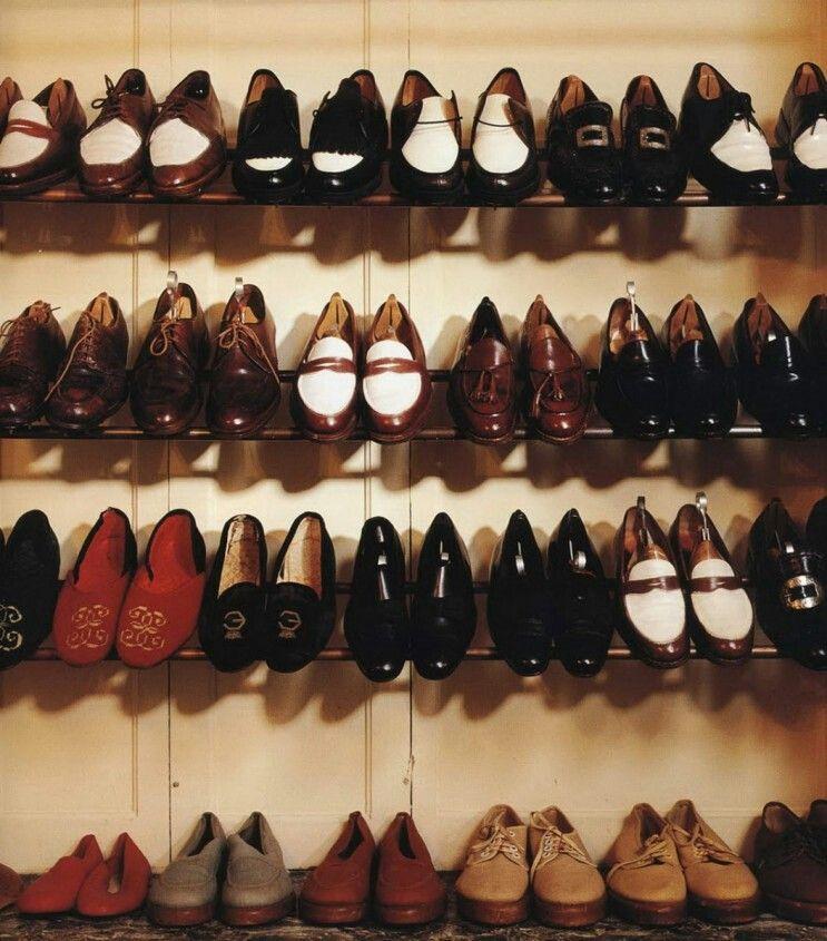 The Duke of Windsor's shoe closet