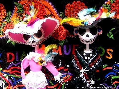 Catrinas Y Calaveras Día De Los Muertos Videos Day Of The Dead