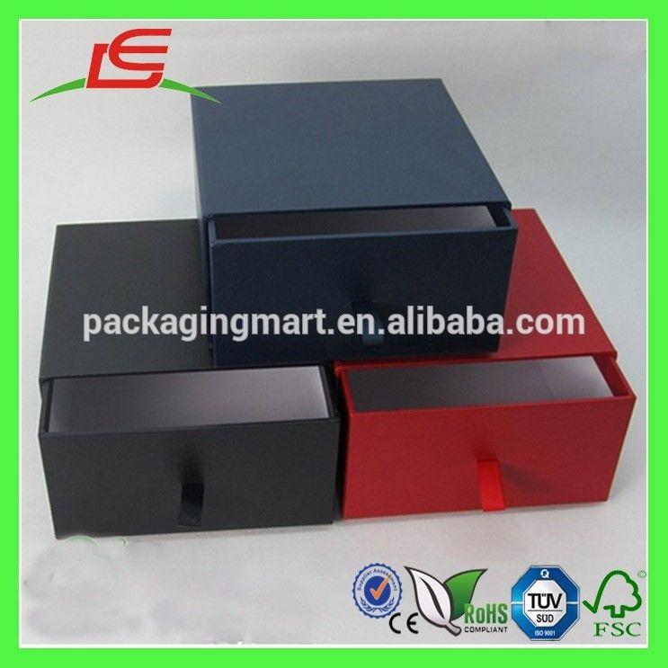 J901 custom luxury drawer boxes cardboard gift boxes