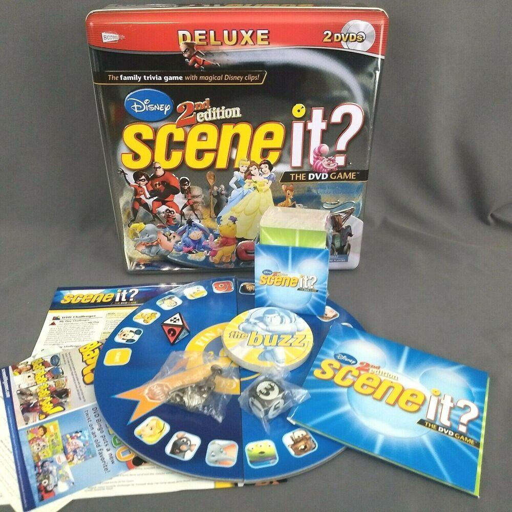 Scene It? Friends Deluxe Edition | Board Game | BoardGameGeek