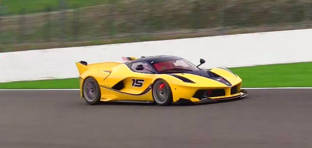 Google Exec.'s Wife Races Ferrari FXX K at Spa