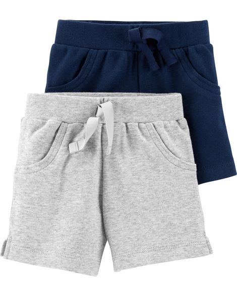 d9deacfb9 2-Pack Certified Organic Pull-On Shorts in 2019 | Products | Baby ...