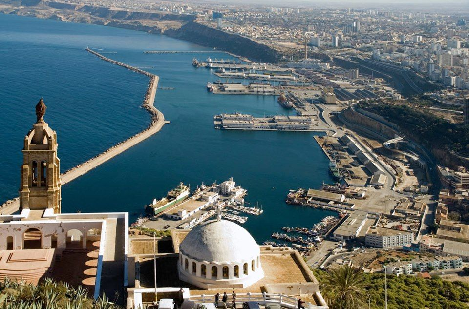 A view of Oran, Algeria Bladi Pinterest Africa, Wanderlust