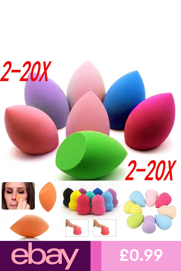 Makeup Puffs, Sponges & Wedges Health & Beauty Makeup