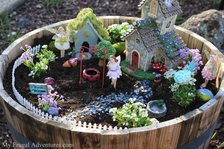 How To Make A Fairy Garden For Indoor Or Outdoor