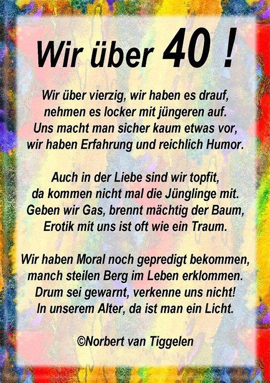 Geburtstagsgrusse Zum 40ten Unique Gluckwunsche Zum 40 Geburtstag