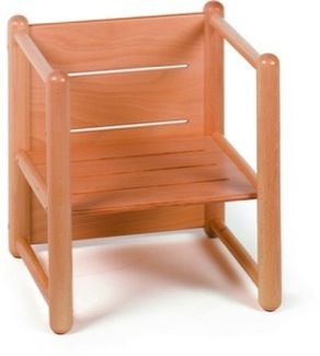 Furniture Wooden Chairs Reversible Small Chair Montessori