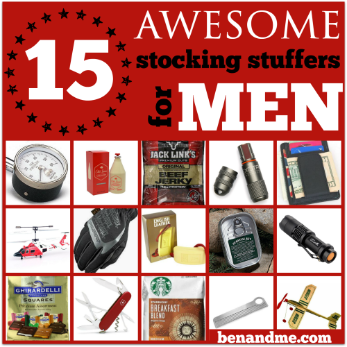 15 Awesome Ideas For Stocking Stuffers Men