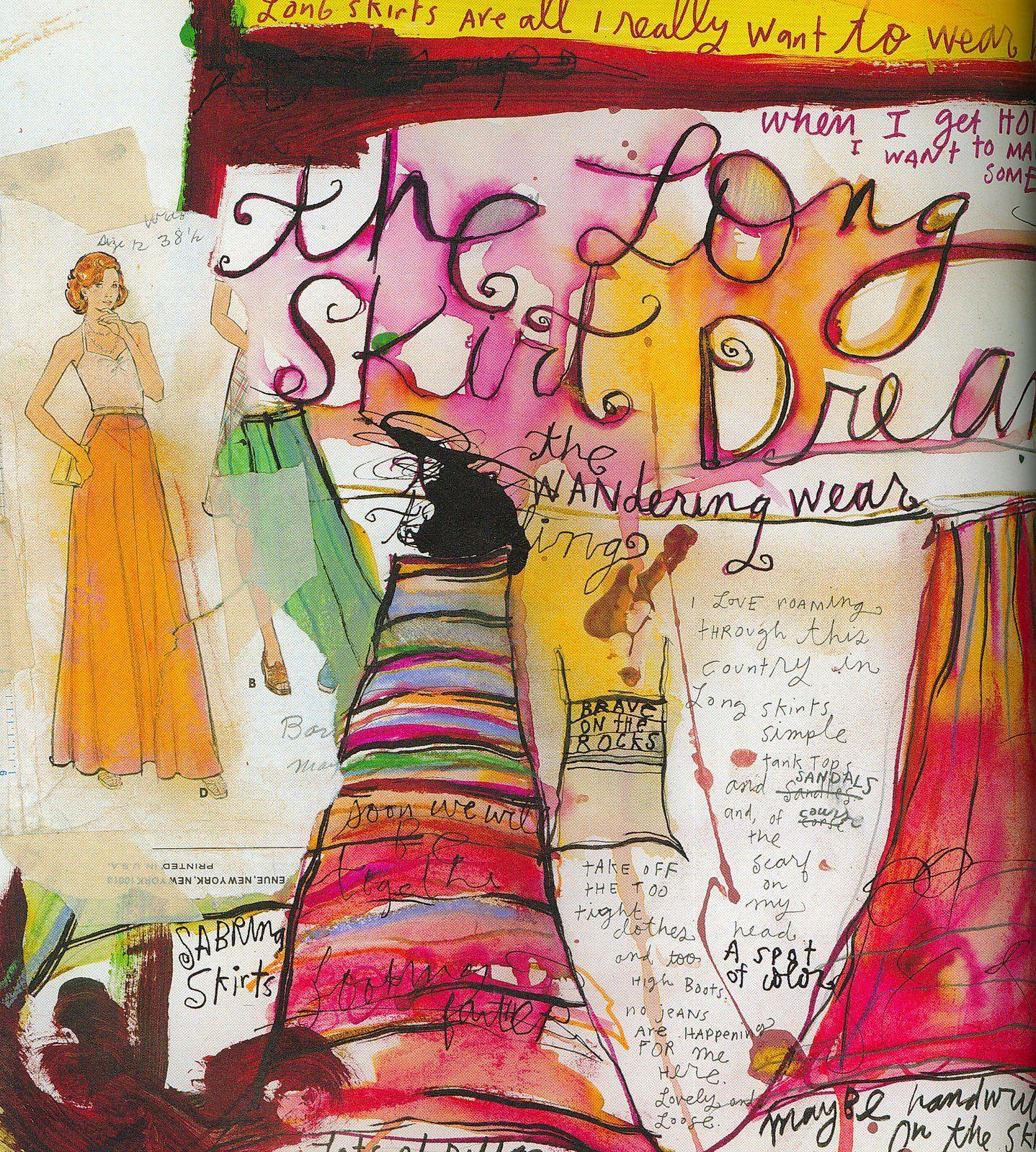 Sabrina Ward Harrison | Art, Art journal pages, Art blog Sabrina Ward Harrison Sketchbook