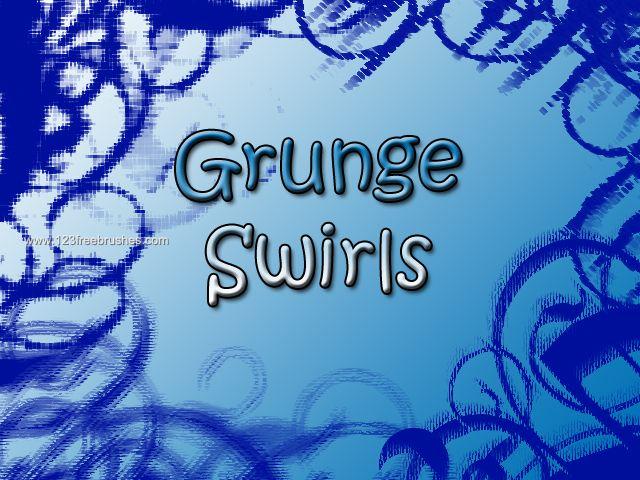 Grunge Swirls Decoration - Download  Photoshop brush http://www.123freebrushes.com/grunge-swirls-decoration/ , Published in #GrungeSplatter. More Free Grunge & Splatter Brushes, http://www.123freebrushes.com/free-brushes/grunge-splatter/ | #123freebrushes