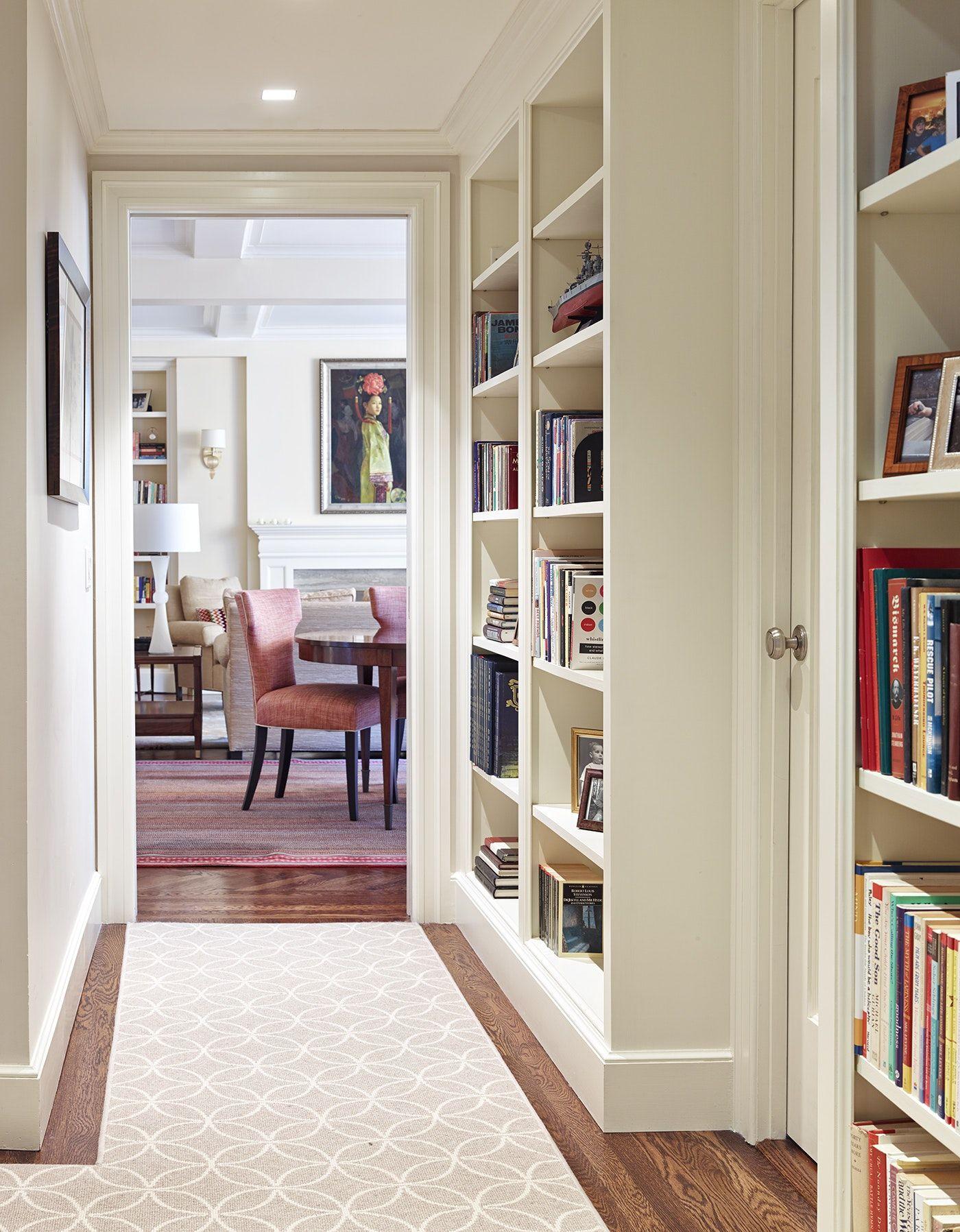 """Growing Family"" Lenox Hill Apartment, Hallway Hallway"