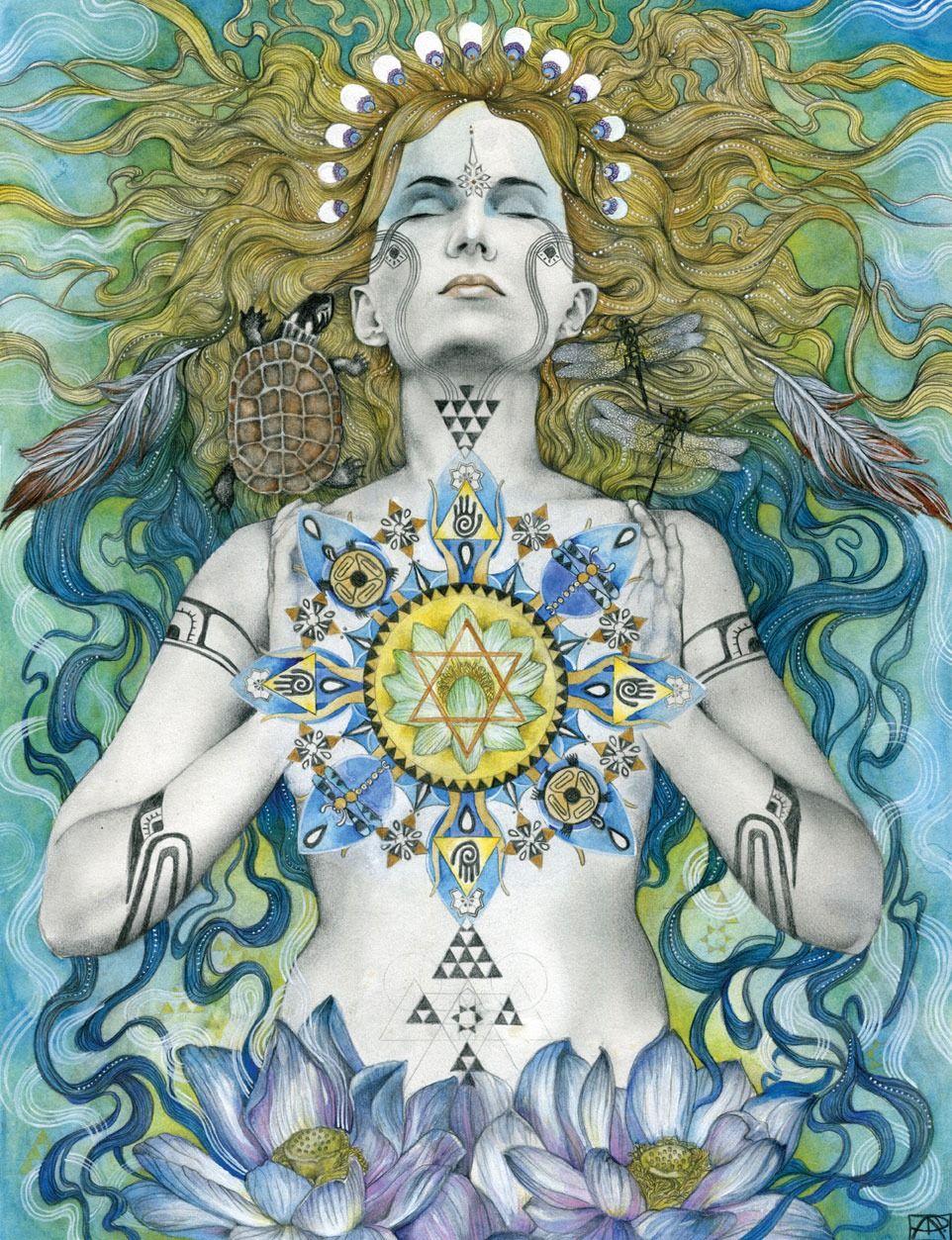 Wocekiye by patricia ariel the divine feminine pinterest wocekiye by energetic surrealist patricia ariel via sacred familiar biocorpaavc Images