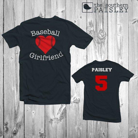 a15ebca13 Baseball Girlfriend Shirt - Baseball Girlfriend #clothing #shirt  @EtsyMktgTool #baseball #baseballgirlfriend #baseballraglan #baseballshirt