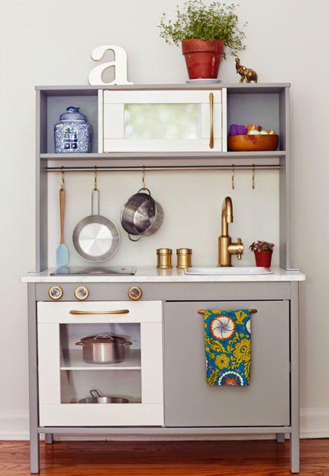 13 fun ways to transform the IKEA play kitchen | Mum\'s ...