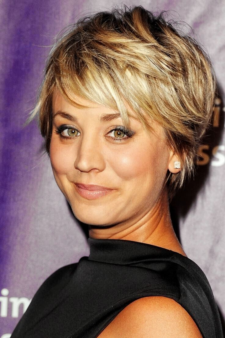 Back view of short hairstyles for women over fine hair