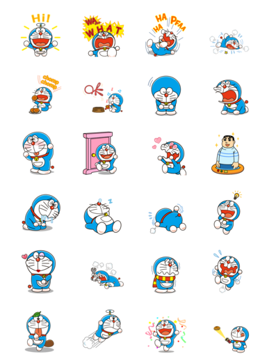 Doraemon Animated Stickers Doraemon Hinh ảnh Meo