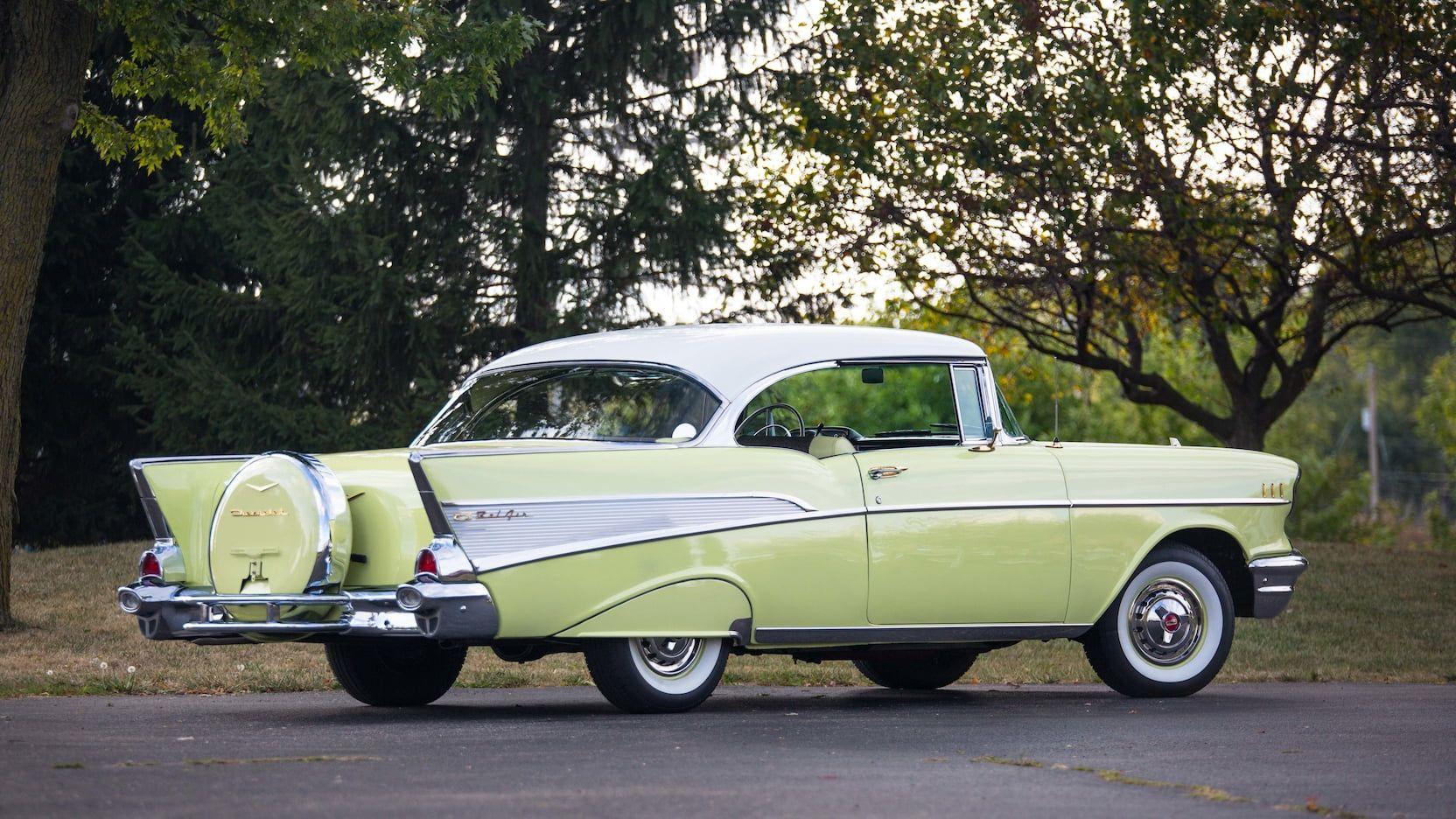 1957 Chevrolet Bel Air Presented As Lot S98 At Las Vegas Nv