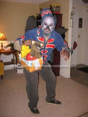 cool homemade flying monkey from wizard of oz costume - Halloween Monkey Costumes