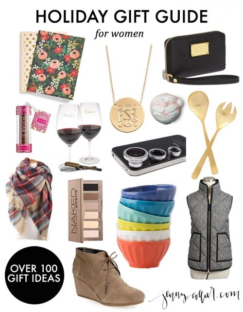 Holiday Gift Guide for Women - over 100 gift ideas for everyone on your  list! - Holiday Gift Guide For Women DIY Ideas Pinterest Holiday Gifts