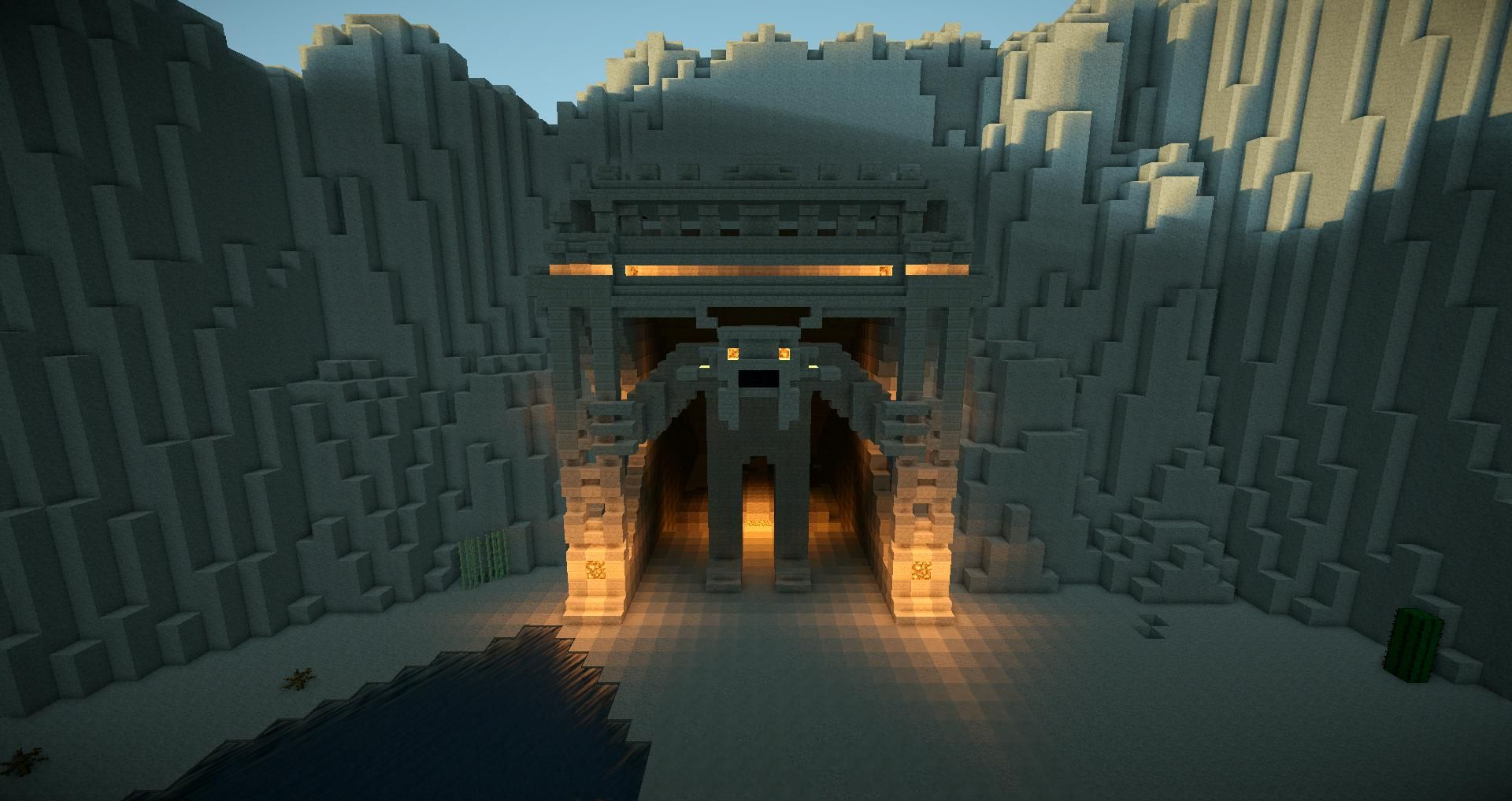 Cool Entrance Way Would Use For A Quest Or Temple On Play