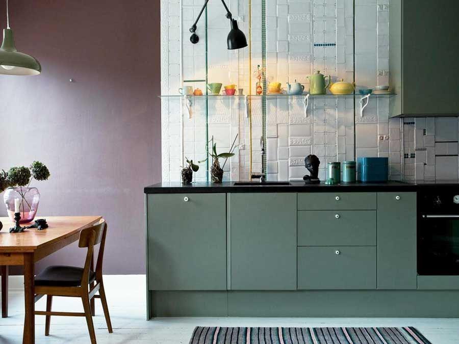 Ideen für Wandgestaltung Küche | BADEZIMMER NEU GESTALTEN HOUSE ...