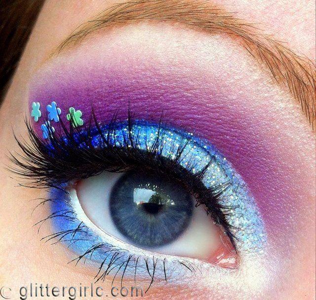Spring faerie makeup