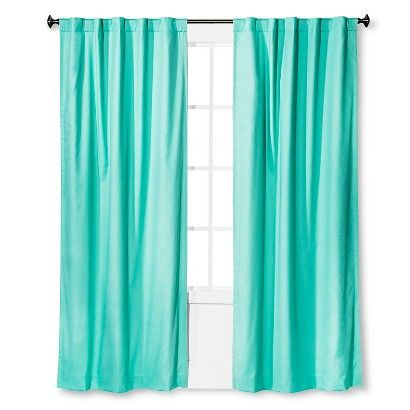 Twill Blackout Curtain Panel Pillowfort Light