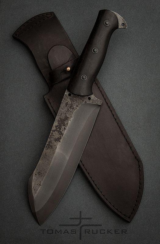 Custom Handmade Knives Tomas Rucker Handmade Knives Knife Hunting Knife